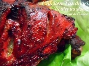 chicken tandoori poulet tandoori