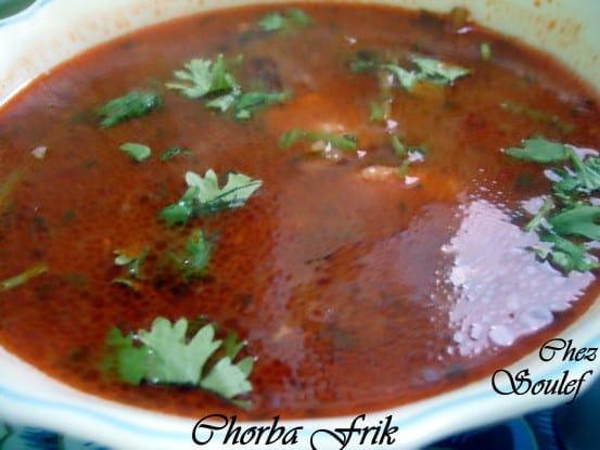 Chorba amour de cuisine for Amour de cuisine arabe