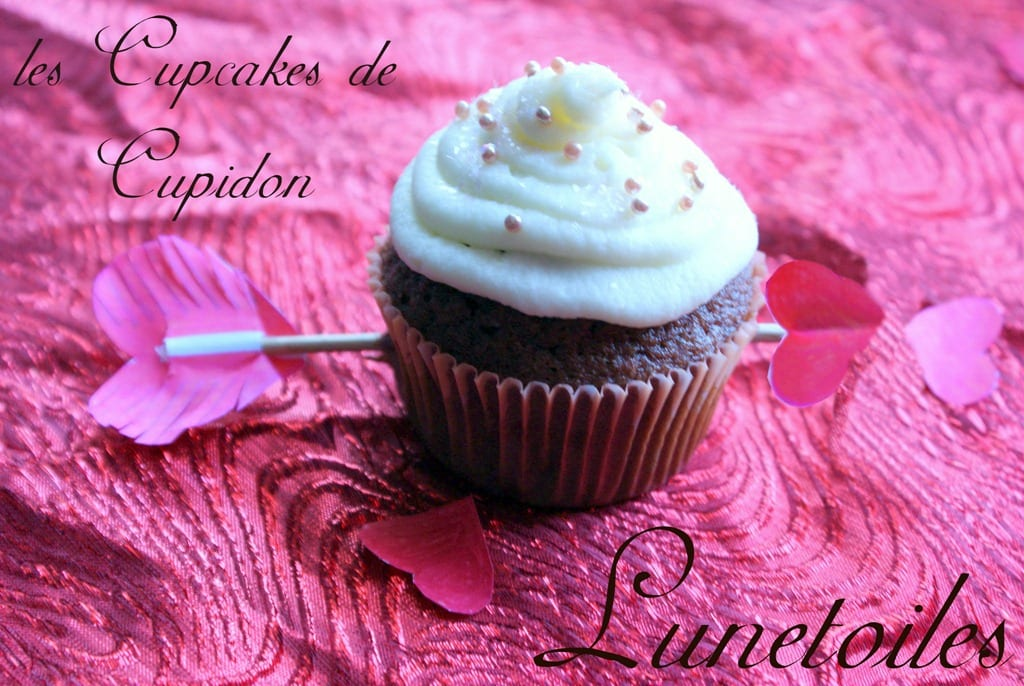 les cupcakes red velvet d'amour
