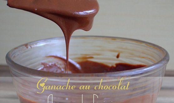 ganache au chocolat
