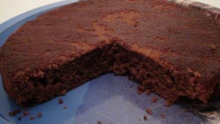 gateau au chocolat sans oeuf de rosa