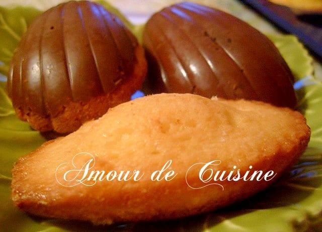 madeleine chocolatée