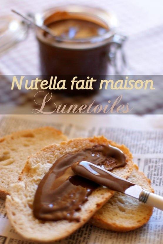 Nutella fait maison amour de cuisine for Cuisine fait maison