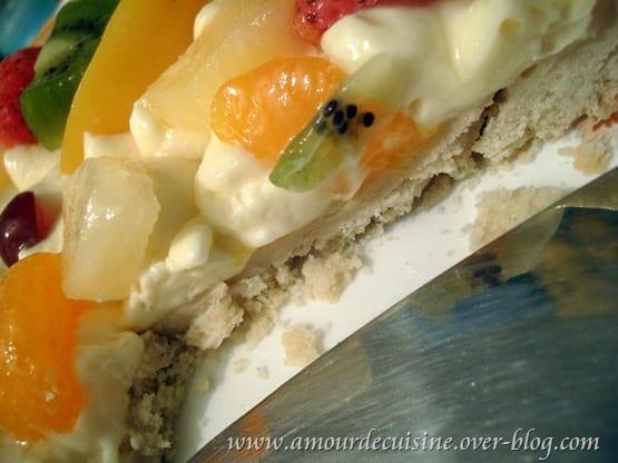 tarte aux fruits a la creme mousseline facile et rapide