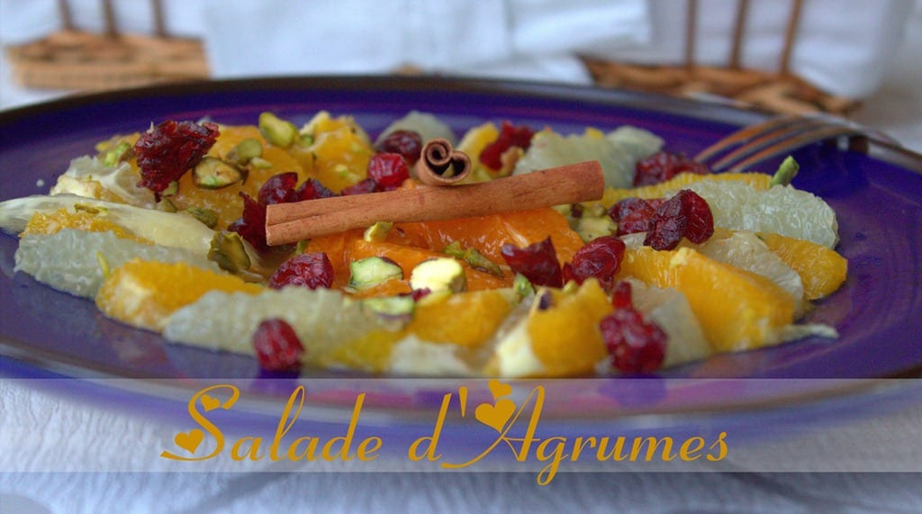 salade d 39 agrumes salade d 39 oranges pamplemousse mandarine amour de cuisine. Black Bedroom Furniture Sets. Home Design Ideas