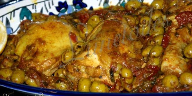 Poulet aux olives amour de cuisine for Algerienne cuisine