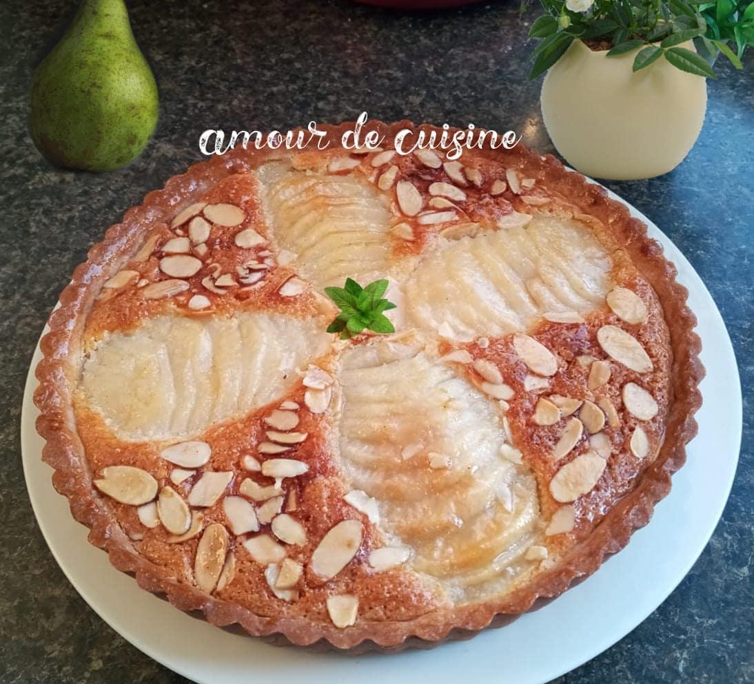tarte bourdaloue facile