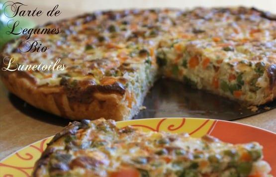 tarte de legumes bio 1