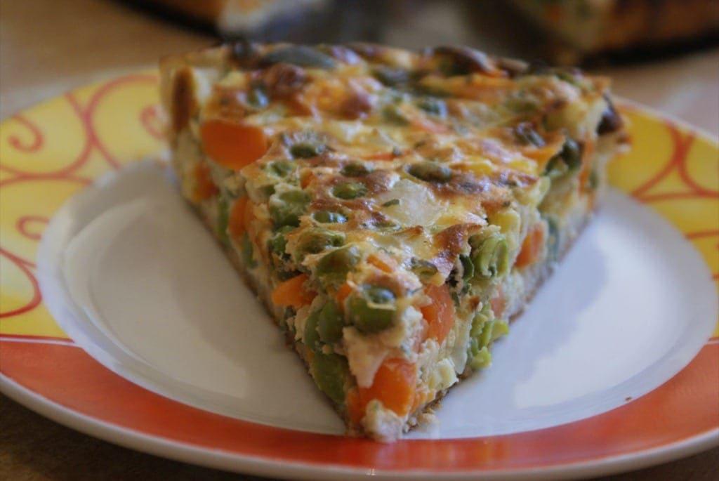 Tarte de l gumes amour de cuisine - Idee recette tarte salee ...
