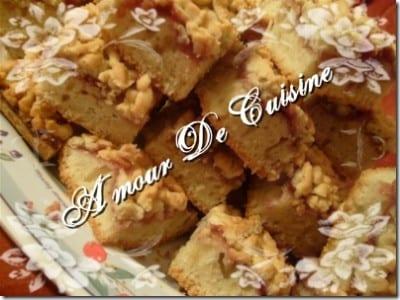 gateau algerien Mderbal gâteaux a la confiture