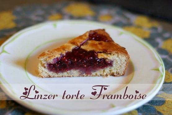 Linzer torte framboise 2