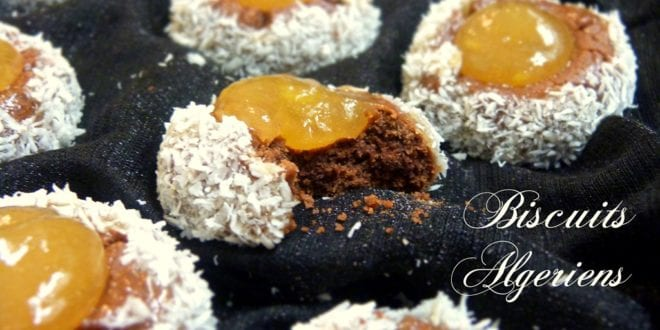 Biscuit / gateau algerien, le nid