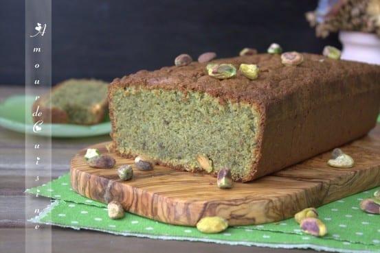 cake a la pistache pate de pistache
