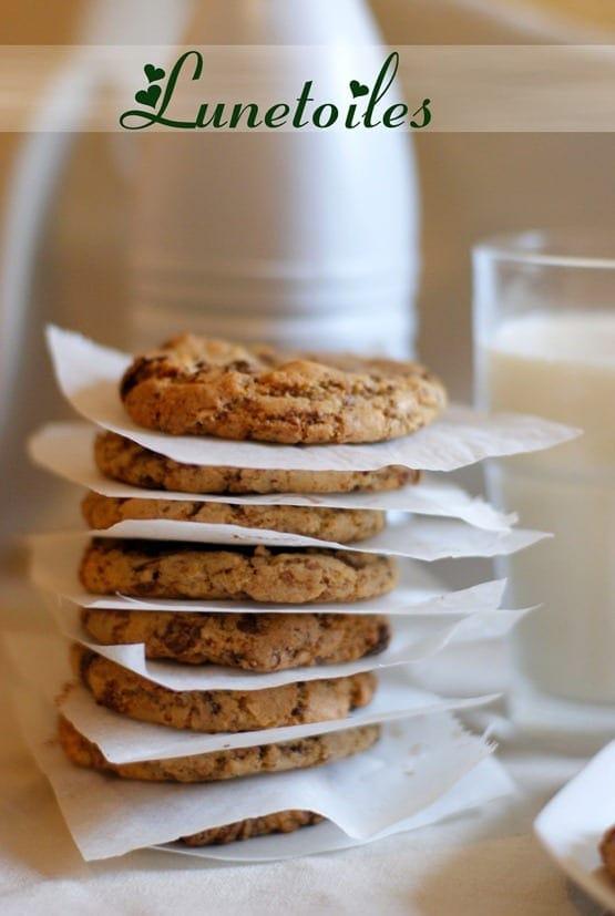 cookies au chocolat parfait