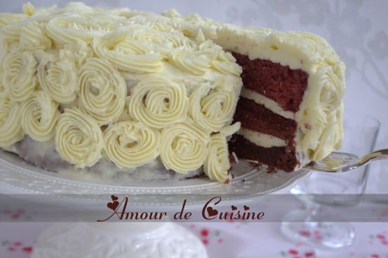 Gateau d 39 anniversaire red velvet amour de cuisine - Decoration de gateau d anniversaire ...
