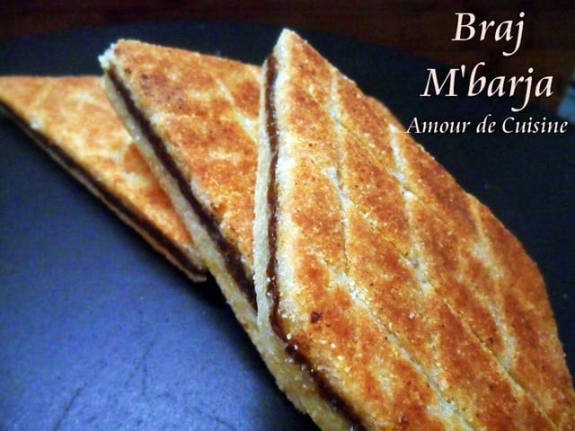 Bradj losanges de semoule aux dattes amour de cuisine for 1 amour de cuisine