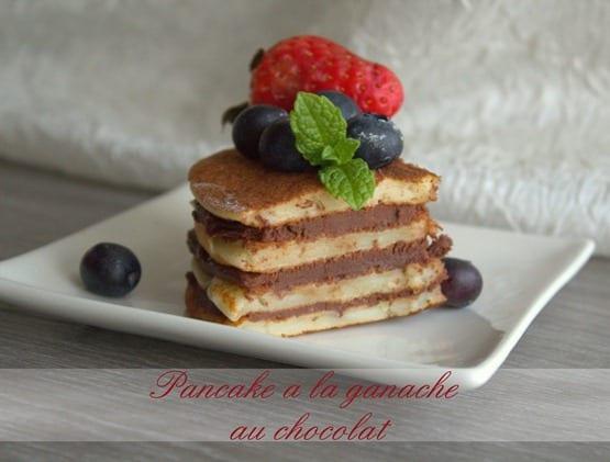 pancake a la ganache au chocolat.CR2