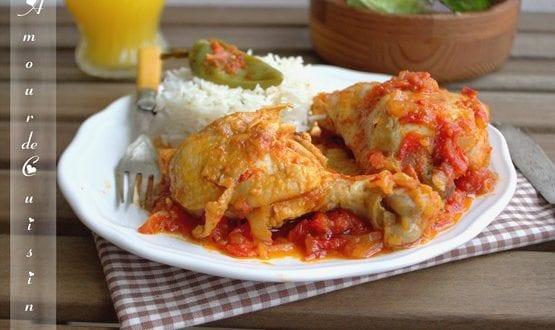poulet basquaise, recette facile
