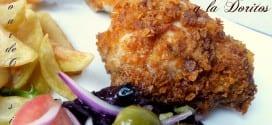 cuisse de poulet panee أفخاذ الدجاج بالفرن