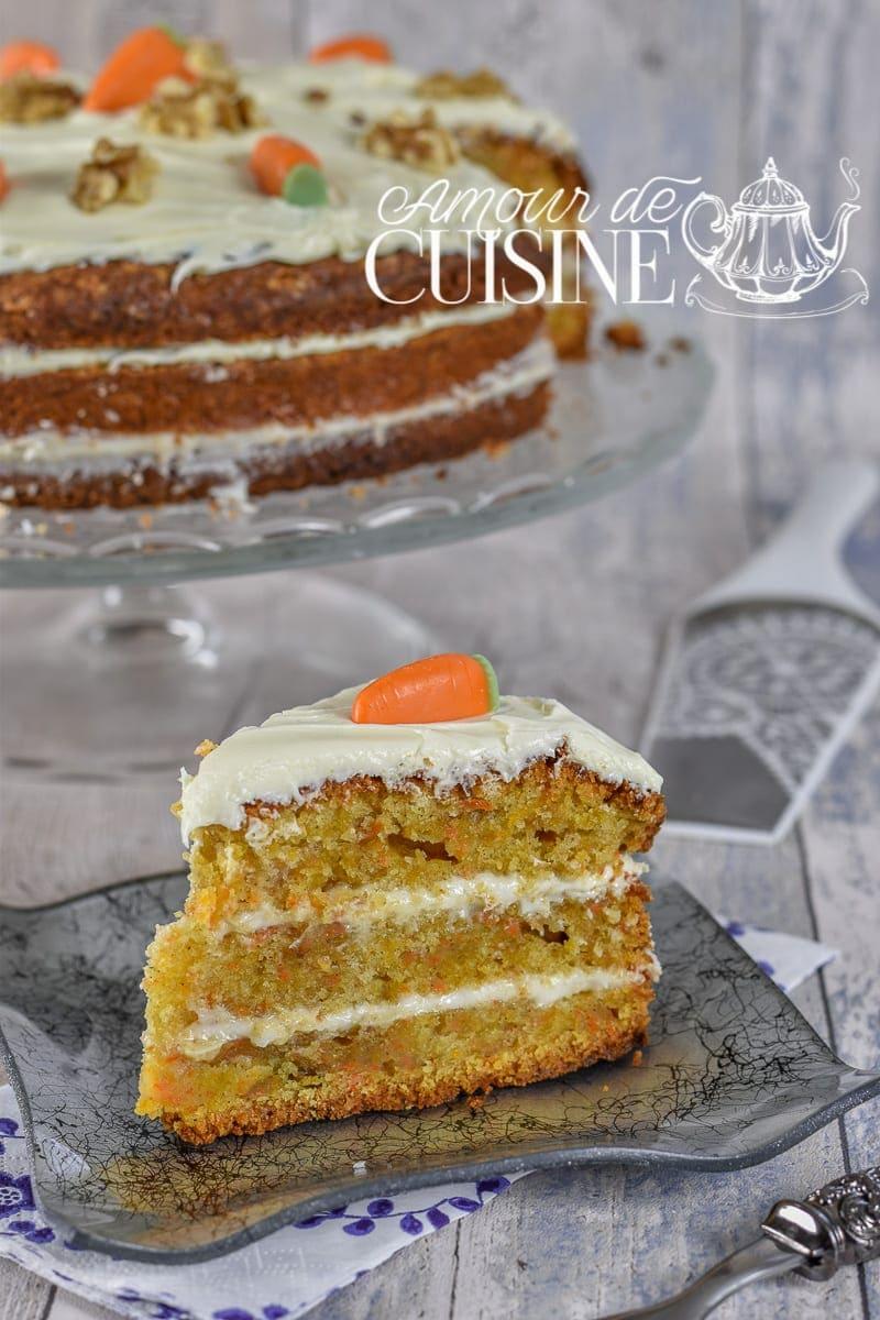 recette du Carotte cake 1