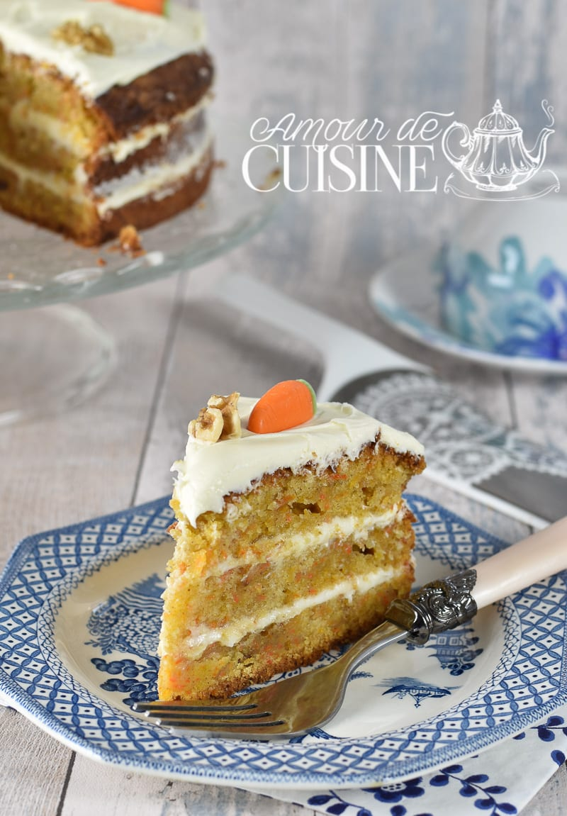recette du Carotte cake 2