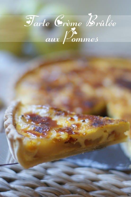 Tarte a la cr me br l e aux pommes amour de cuisine - Video amour dans la cuisine ...