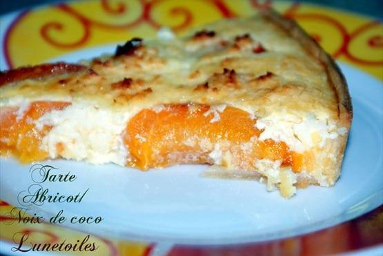 tarte abricot noix de coco 1