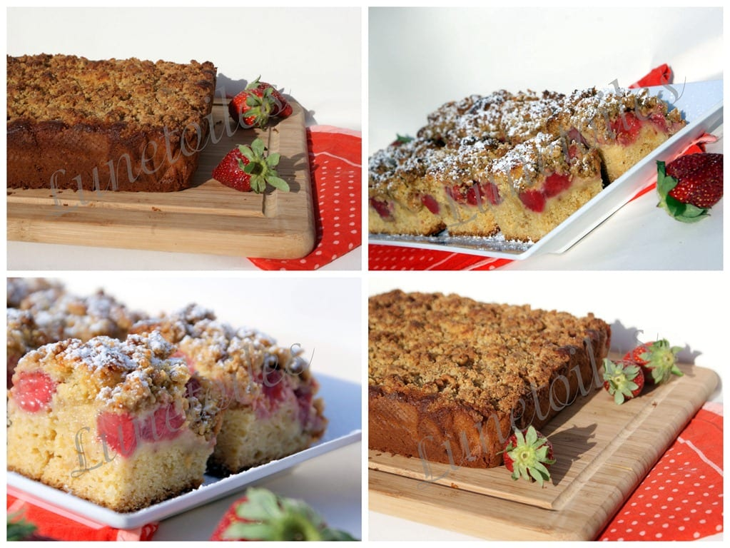 Gateau aux fraises amour de cuisine for 1 amour de cuisine chez soulef