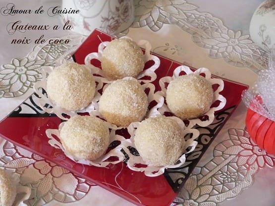 boulettes de neige,gateau algerien