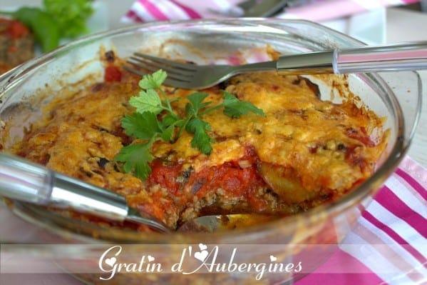 Recette de gratin d 39 aubergines amour de cuisine - Recette de cuisine algerienne facile ...