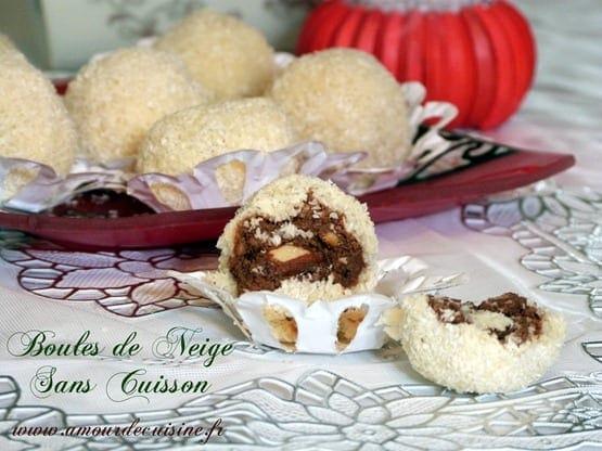 Gateau marocain boule de chocolat