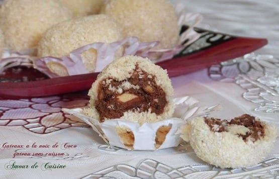 gateau algerien a la noix de coco