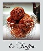 les truffes au chocolat, gateau algerien