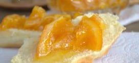 marmelade d'oranges non amère