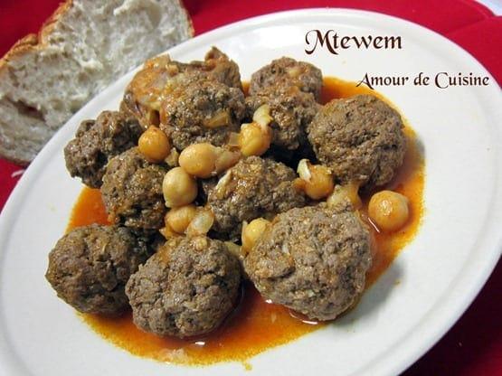 mtewem cuisine algerienne