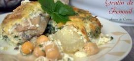 gratin de fenouil: tajine el besbes au four
