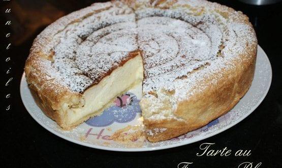 Tarte au fromage Blanc – (Käsekuchen)