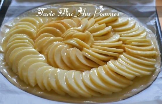 Tarte Fine Aux Pommes Amour De Cuisine