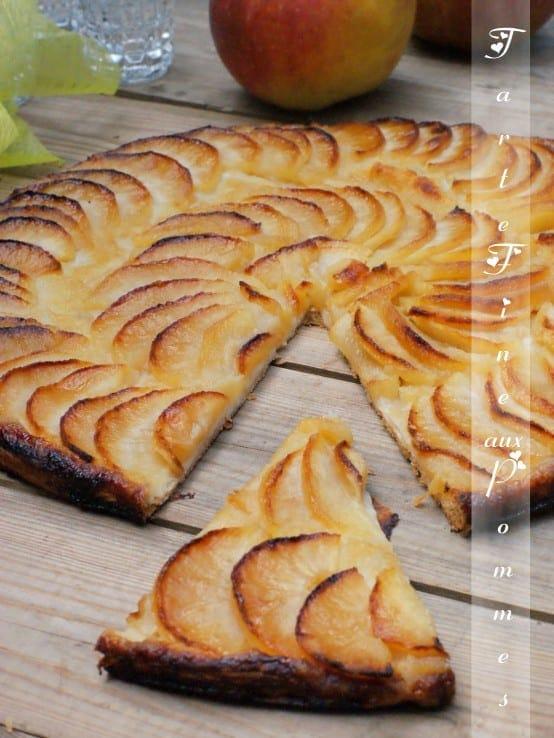 Tarte fine aux pommes amour de cuisine - Tarte aux pommes fine ...