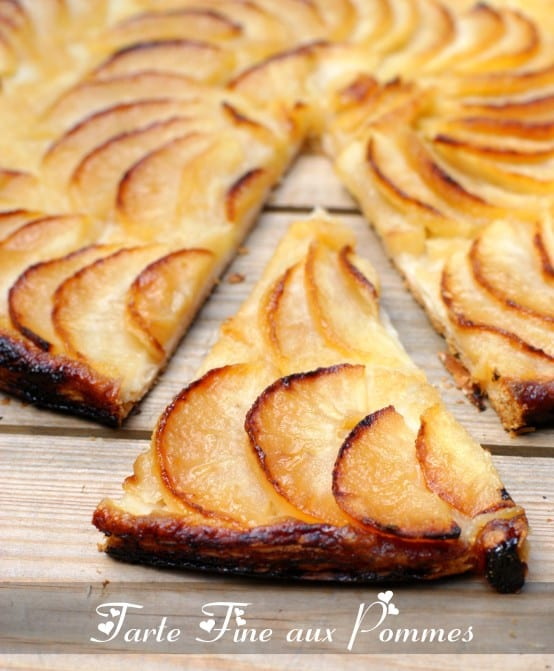 Souvent tarte fine aux pommes - Amour de cuisine ZW03