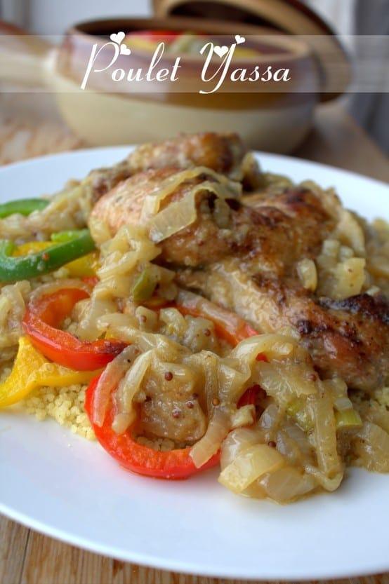 Poulet yassa au couscous amour de cuisine for 1 amour de cuisine