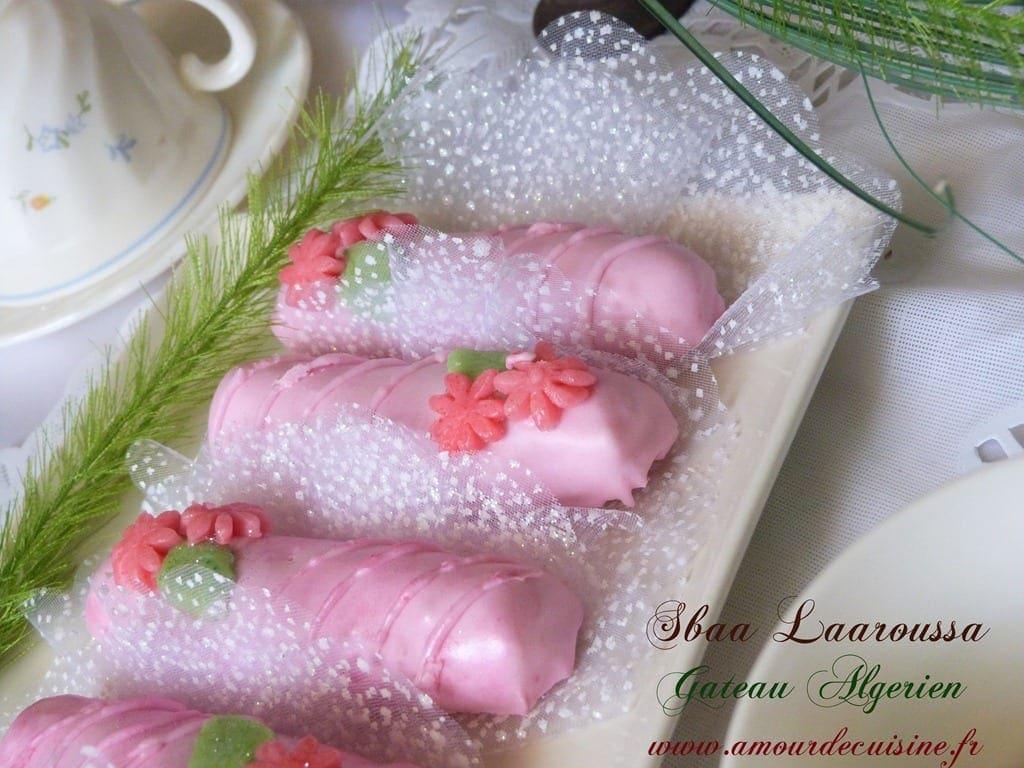 Les doigts de la mari e glac s gateau algerien amour for Amour de cuisine arabe