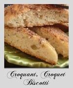 croquant, croquet, biscotti, gateaux algeriens