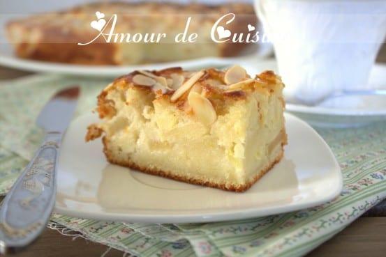 Moelleux aux pommes amour de cuisine for 1 amour de cuisine