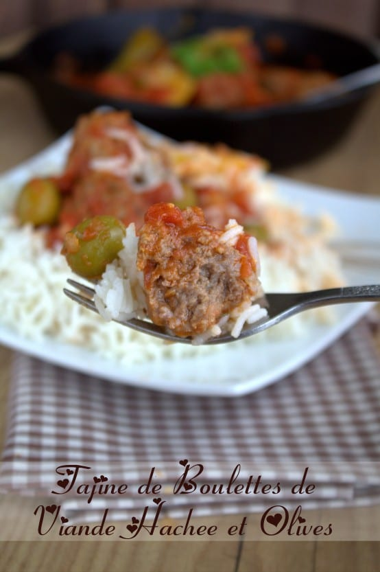 tajine boulettes de viande hachée et olives  kefta be zitoune 1