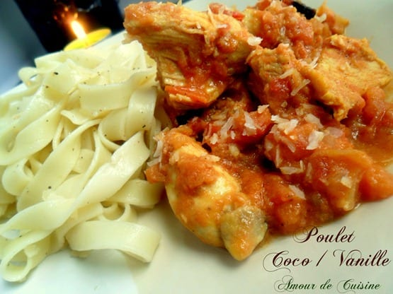 poulet vanille coco