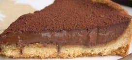 tarte au chocolat تورتة الشكولاطة