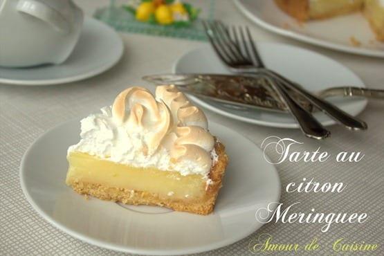 Tarte au citron meringu e amour de cuisine - Tarte au citron meringuee herve cuisine ...