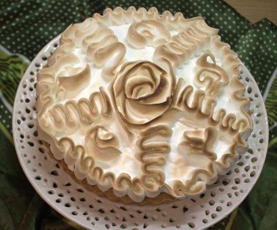 Meringue pour une tarte