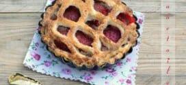 Pie aux fraises, tarte aux fraises confites